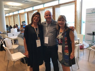 Yariv, Hagit, Pat at Kinneret 2019